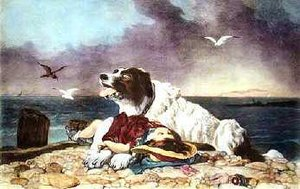 Landseer's paintings of animals were highly popular among all classes of society.
