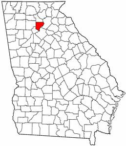 Image:Map of Georgia highlighting Forsyth County.png