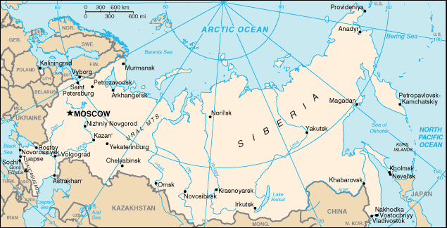 Geography of Russia - Academic Kids