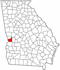 Image:Map of Georgia highlighting Chattahoochee County.png