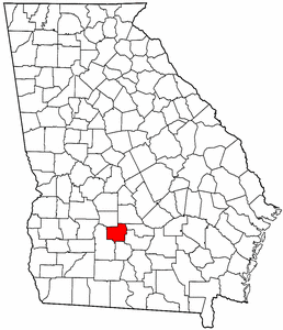 Image:Map of Georgia highlighting Turner County.png