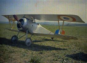 Nieuport Fighter , France 1917
