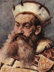 Henry the Bearded in a painting by