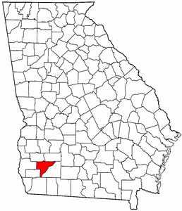 Image:Map of Georgia highlighting Baker County.png