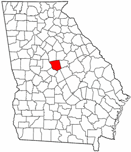 Image:Map of Georgia highlighting Jones County.png