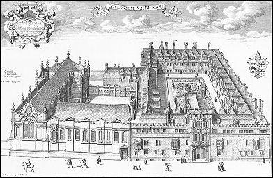 Brasenose College in the 1670s