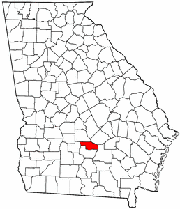 Image:Map of Georgia highlighting Ben Hill County.png