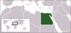 Location of Egypt