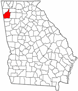 Image:Map of Georgia highlighting Floyd County.png