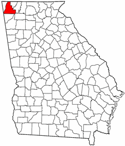 Image:Map of Georgia highlighting Walker County.png
