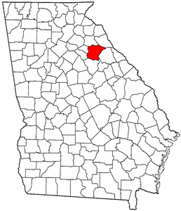 Image:Map of Georgia highlighting Oglethorpe County.png