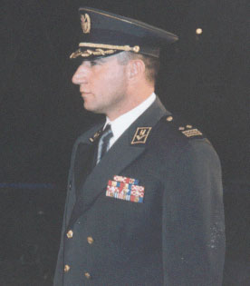 General Ante Gotovina in his army uniform