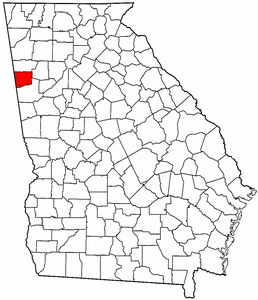 Image:Map of Georgia highlighting Haralson County.png