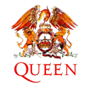 The Queen logo, designed by