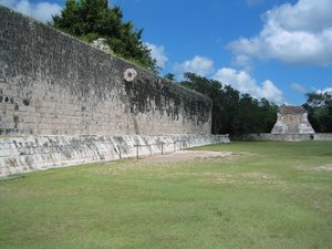 Great Ball-court at Chichen Itza 2