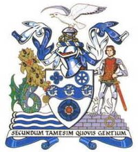 Arms of Thurrock Council