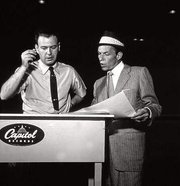 Nelson Riddle and Frank Sinatra, 1956