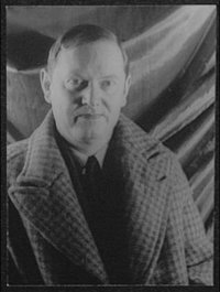 Evelyn Waugh, as photographed in 1940 by Carl Van Vechten