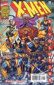 X-Men #100. Claremont returns to the X-Men. Art by .