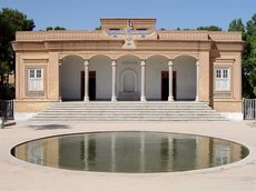 The fire temple for Zoroastrians of Iran in the city Yazd