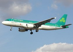 Aer Lingus, as a European carrier, switched to purchasing  aircraft, such as the  above.