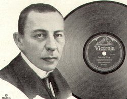 Rachmaninoff, from a   advertisement