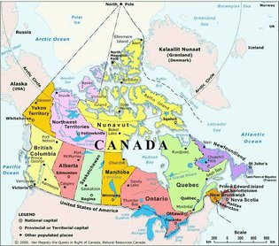 In Canada the federal government retains all powers the constitution does not grant to the territories and provinces.