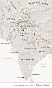 Kushan Empire - Academic Kids on parthian empire map, choson empire map, sassanid empire map, ancient egypt nubia and kush map, gupta empire map, chola kingdom map, hephthalite empire map, ming dynasty map, frankish kingdom map, timurid empire map, umayyad empire map, afghan empire map, ghana empire map, pallava empire map, union of soviet socialist republics map, kangxi empire map, delhi sultanate map, khmer empire map, ancient persia empire map, greco-bactrian empire map,