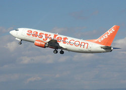 easyJet Boeing 737 taking off