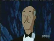 Alfred Pennyworth, Bruce Wayne's butler, as seen in .