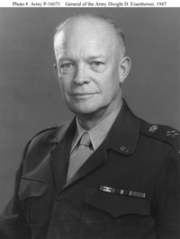 General of the Army Eisenhower in 1947