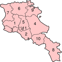 Provinces of Armenia