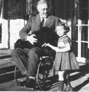 Franklin D. Roosevelt was confined to a wheelchair after contracting Polio in 1921