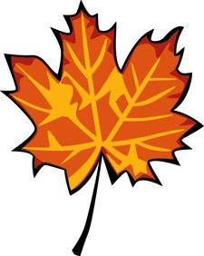 Fall Leaf Clipart provided by Classroom Clip Art (http://classroomclipart.com)