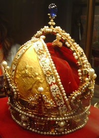 The Imperial Crown, formerly the personal crown of