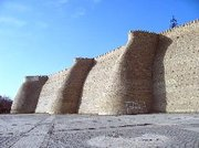 Ark fortress walls, home to the Khans of Bukhara