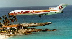 Sun Country 727