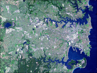 Image of Sydney taken by NASA