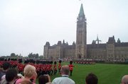 The Parliament Buildings can be found in Canada's capital, , which is in Ontario