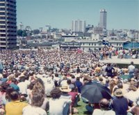 ALP Policy launch before a huge crowd in the  on 24 November 1975
