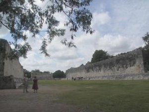 Great Ball-court at Chichen Itza