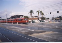 Trolley (LRT) Old Town, San Diego
